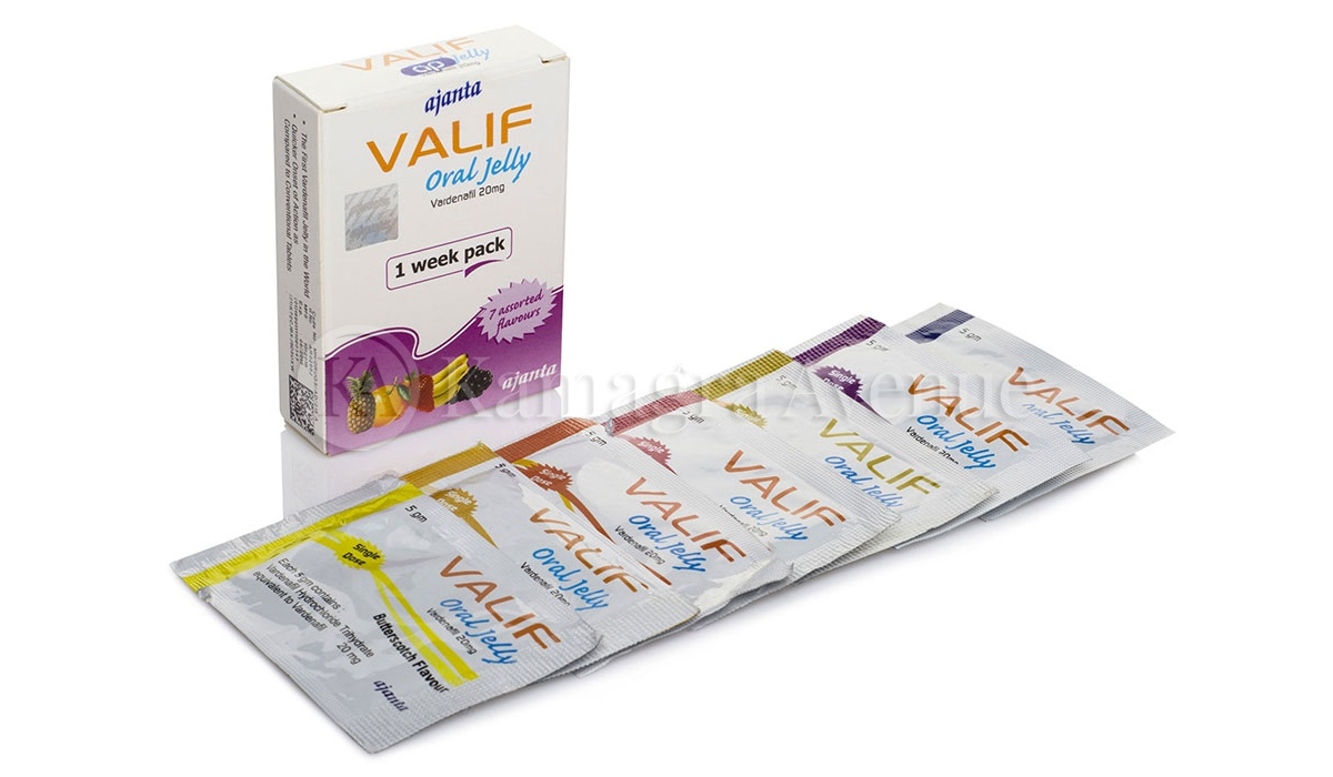 Valif Oral Jelly 7x20mg