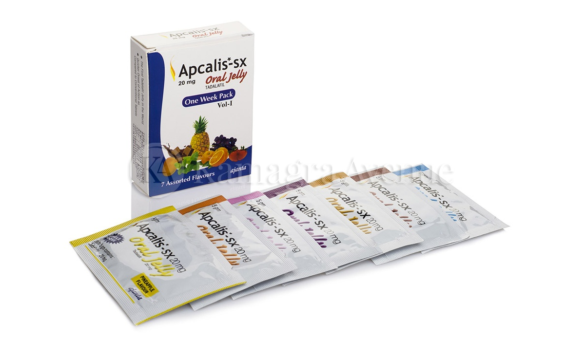Apcalis SX Oral Jelly 7x20mg