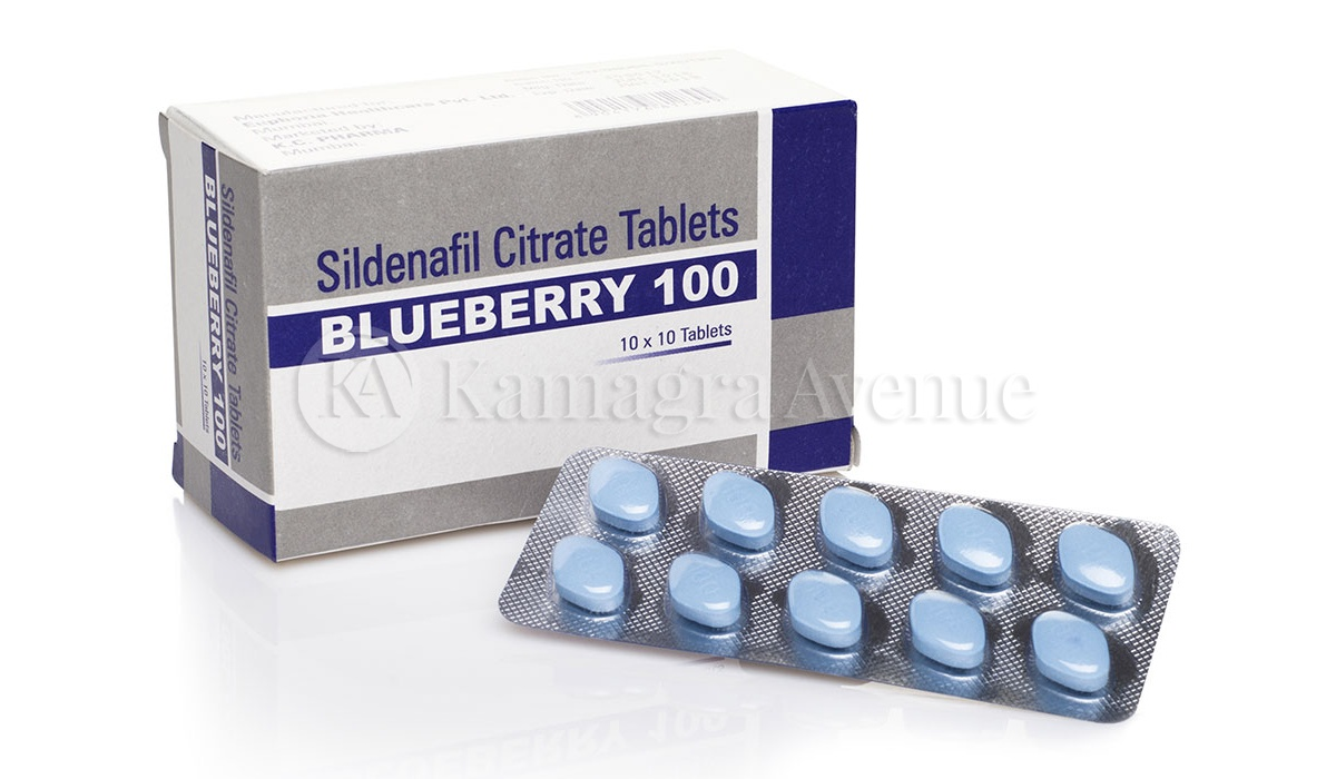 Blueberry Sextreme 10x100mg